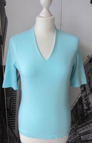 edles MORE & MORE Shirt Gr. 36 Türkis wenig getragen