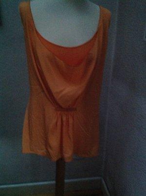 Waterval shirt licht Oranje Gemengd weefsel