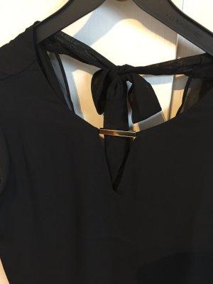 Edles oversize Blusentop von Mango in schwarz / S / 36 - 38