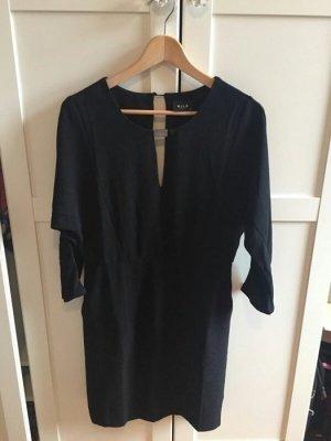 edles schickes schwarzes Kleid Bürokleid Abendkleid Cocktailkleid NEU M 38
