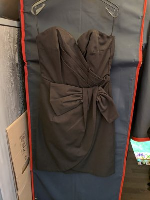 H&M Vestido strapless negro