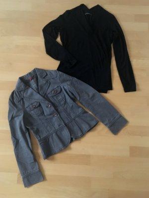 Edles schwarzes Shirt mit Kragen