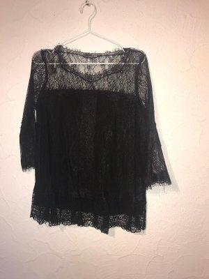 Riani Camicia a tunica nero Poliammide
