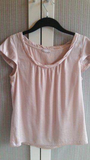 Edles Seiden/BW Shirt Bluse von Iheart in nude