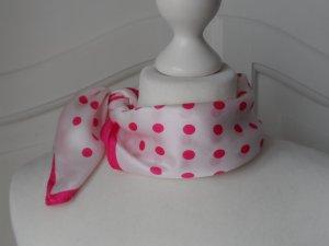 Silk Cloth white-pink silk