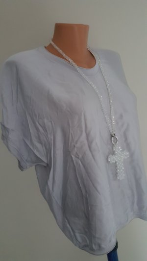 Edles Shirt mit Seide / Gr. 36-40