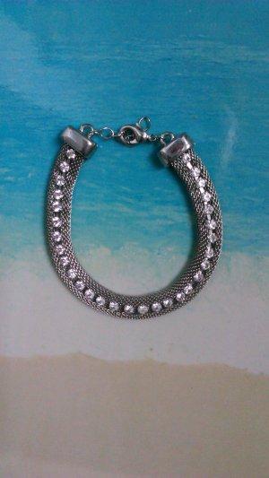 Edles Silberarmband