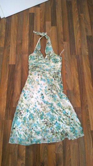 Edles Sommerkleid mit Seidenanteil, Größe 38