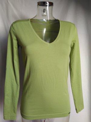 edles Top in einem schönem senfgrün! neuwertig!