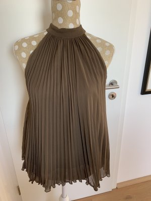 Blusa marrone-marrone-grigio