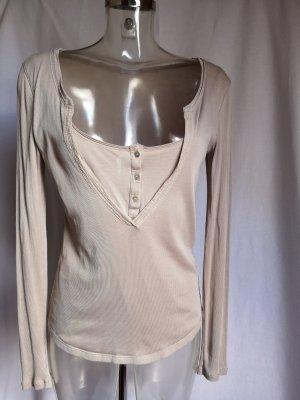 Schuhmacher Shirt Body oatmeal-beige