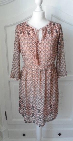 edles VERO MODA Kleid Gr. M (36/38) nude (Apricot Braun) nur 1 x getragen