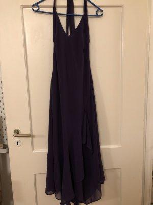edles, violettes Abendkleid
