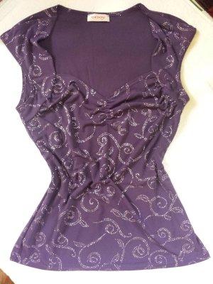 edles violettes Top von Orsay, Gr. 38/M
