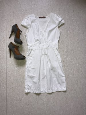 Edles weißes Kleid von Comptoir des cotonniers