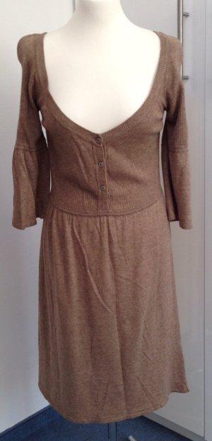 Snob Vestido de lana camel mohair