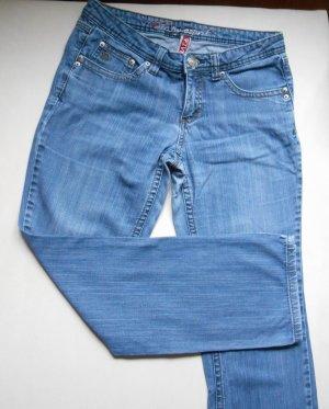 EDP Esprit Jeans Vintage Denim W29 / DE 36/38 Short gerades Bein