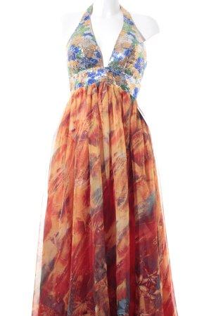 eDressit A-Linien Kleid mehrfarbig Glitzer-Optik
