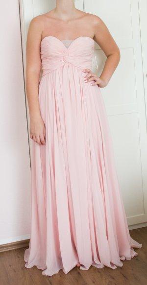 eDressit Abendkleid Ballkleid Henna Verblobung Brautjunger rosa pink Bandeau Bustier