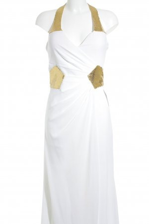eDressit Abendkleid weiß-goldfarben Elegant