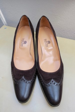 High Heels dark brown-brown