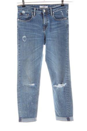 Edwin Jeans boyfriend blu stile casual