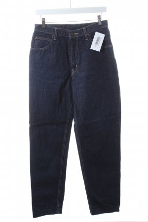 Edwin International Straight-Leg Jeans dunkelblau Casual-Look