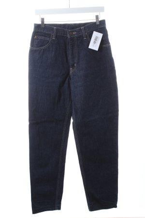 Edwin International Jeans coupe-droite bleu foncé style décontracté