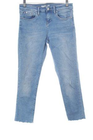 Edwin Skinny Jeans himmelblau Country-Look
