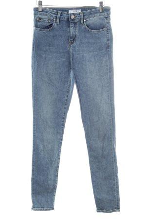 Edwin Skinny Jeans kornblumenblau Jeans-Optik