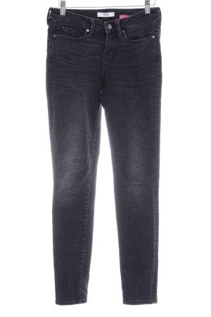 Edwin Slim Jeans schwarz Washed-Optik