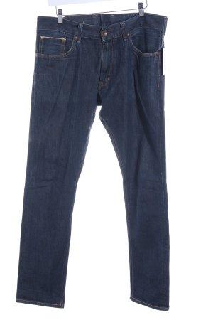 Edwin Straight-Leg Jeans dunkelblau klassischer Stil