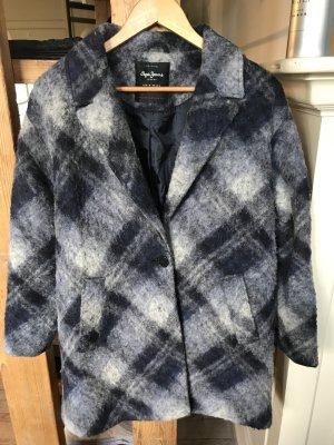 Pepe Jeans London Cappotto in lana multicolore