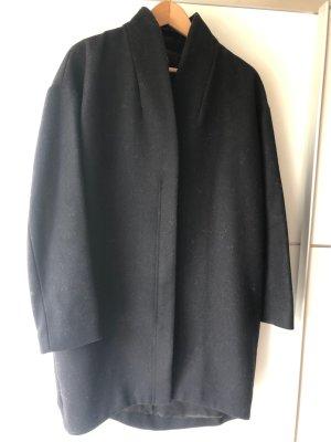 & other stories Wollen jas zwart