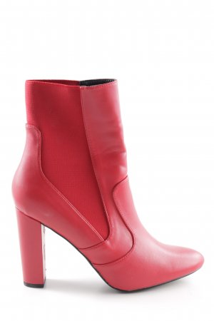 EGO High Heel Stiefel rot Business-Look