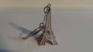 Porte-clés argenté métal