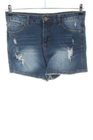 Eight2Nine Pantaloncino di jeans blu stile casual
