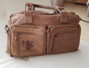 Feldmoser Bolso barrel marrón claro