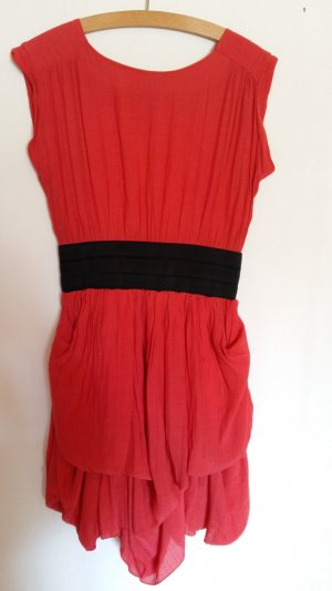 Atmosphere Balloon Dress red