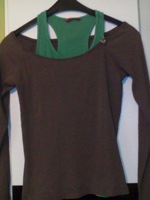 Sweatshirt bruin