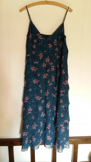 H&M Flounce Dress multicolored polyester