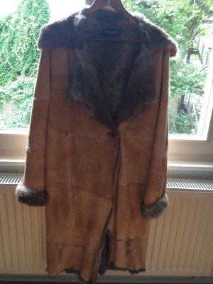 Ein hochwertiger Mantel Innenfutter Kaninchenfell in Gr.S