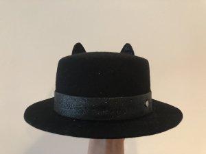 Karl Lagerfeld Vilten hoed zwart