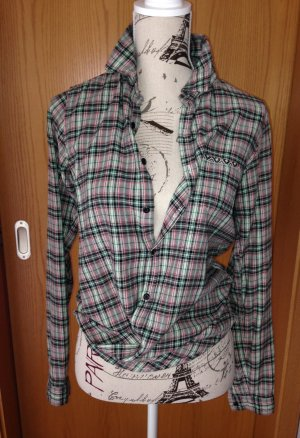 Formal Shirt green-pink