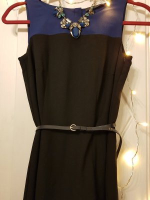 Ein schickes Kleid von ESPRIT aus Chiffon, Gr. XS, Royalblau-Schwarz