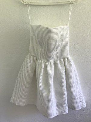 Babydoll Dress white cotton