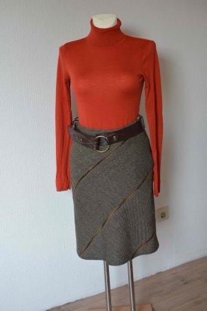 Wool Skirt multicolored mixture fibre