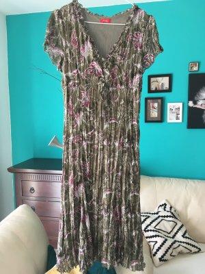 s.Oliver Midi Dress multicolored polyester