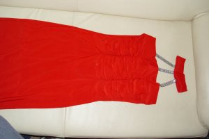 Ein schönes knöchellanges Kleid schön Figurbetont
