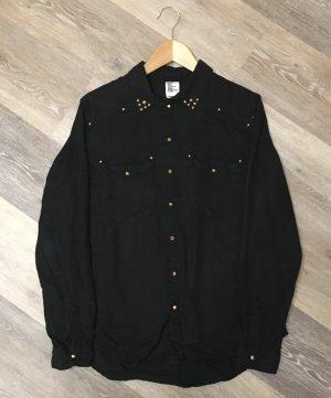 H&M Formal Shirt black cotton
